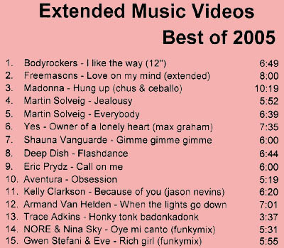 Extended Music Videos